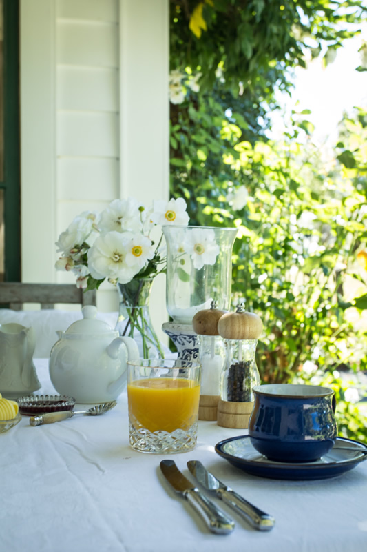 Marlborough B & B Breakfast Sample